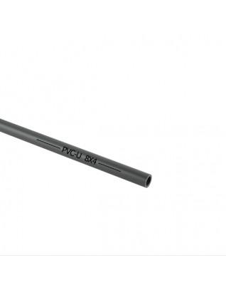 Grau PVC-U Rohr 8mm
